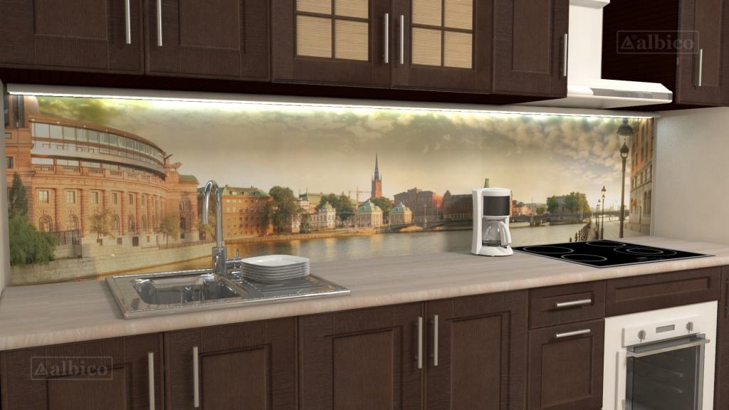 стеновая панель на кухню фотопечать фото плачет